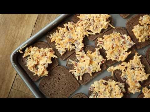Appetizer Recipes – How to Make Bacon Cheese Puffs