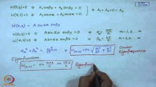 Mod-01 Lec-34 Vibrations Of Rectangular Membrane