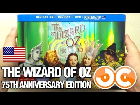 [Blu-ray 2D/3D] The Wizard of Oz: 75th Anniversary Limited Collector's Edition (USA)