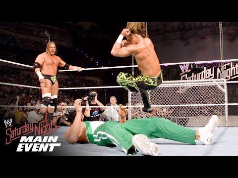 FULL MATCH - D-Generation X vs. The Spirit Squad - Handicap Match: Saturday Night's Main Event 2006 (видео)