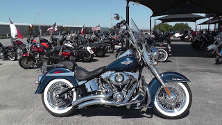 9. 049392 - 2012 Harley Davidson Softail Deluxe   FLSTN - Used motorcycles for sale