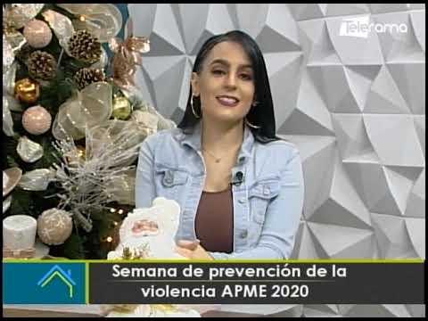 Semana de prevención de la violencia APME 2020