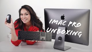 iMac Pro  Unboxing, Product Overview, and First Impressions | Space Gray iMac