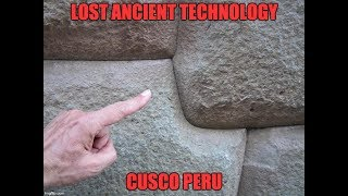 This video of a walking tour through Cusco shows you obvious differences between what the Inca could have built, and what...