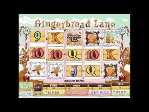 Gingerbread Lane slot by Genesis Gaming - Gameplay