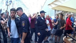 Download Video RUSSIAN POLICE IN ACTION AGAINST ENGLAND FANS WORLDCUP 2018 MP3 3GP MP4