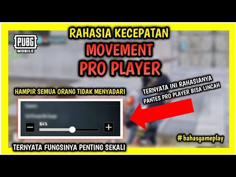 Inilah Rahasia Dibalik KECEPATAN MOVEMENT PRO PLAYER PUBG Mobile Indonesia
