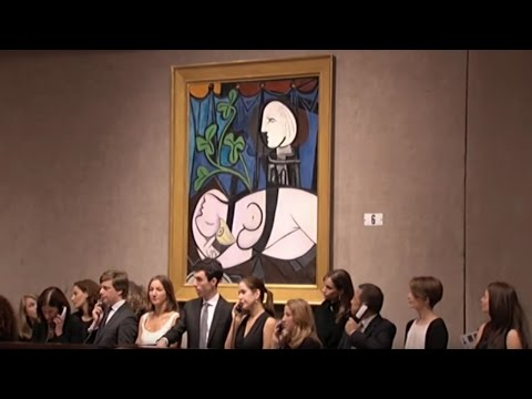 Pablo Picasso's 'Nude, Green Leaves And Bust' | 2010 World Auction Record