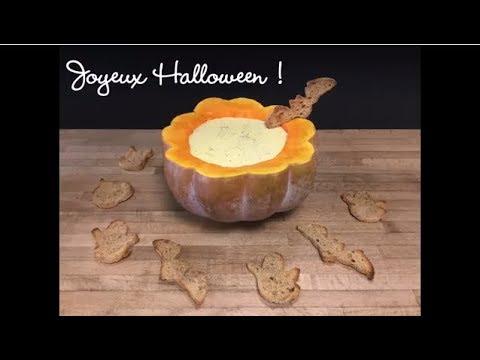 Copaline - Recette de la fondue d'Halloween