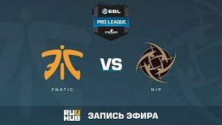fnatic vs. NiP - ESL Pro League S5 - de_cache [Enkanis, yxo]