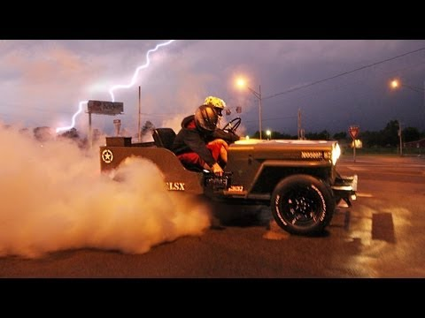 LSX Willys Jeep makes room to pack power