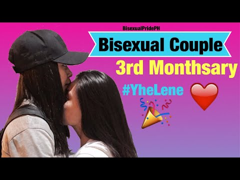 BISEXUAL COUPLE MONTHSARY (YheLene)
