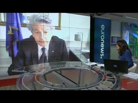«Θα στηρίξουμε την οικονομία» – Ο Επίτροπος Εσωτερικής Αγοράς στο euronews…