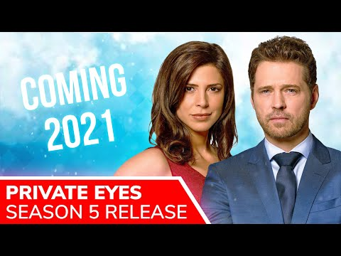 PRIVATE EYES Season 5 Release Set for 2021: Jason Priestley & Cindy Sampson Will Return