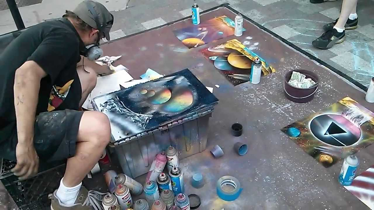 Spray Speed Painting