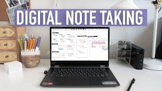 DIGITAL NOTE TAKING TIPS | OneNote + Handwriting