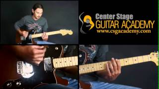 Learn How to play Iron Man Guitar Lesson