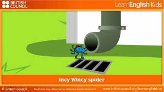 Incy Wincy spider, LearnEnglish Kids