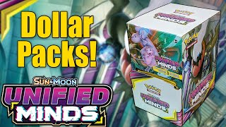 Pokemon Unified Minds Dollar Packs! by The Pokémon Evolutionaries