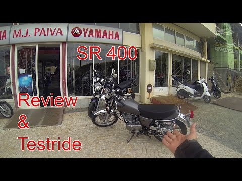 Yamaha SR400 Review and Testride!