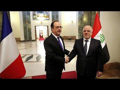Οι συμβολισμοί και η σημασία της επίσκεψης Ολάντ στο Ιράκ