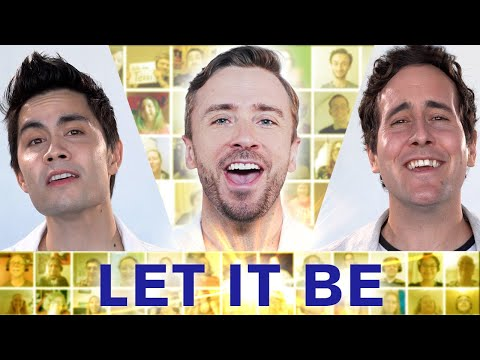 "The Beatles  ""Let It Be"" Cover by Peter Hollens"