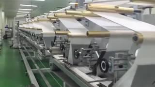 video thumbnail WET TISSUE MAKING MACHINERY (BABY WIPE) youtube