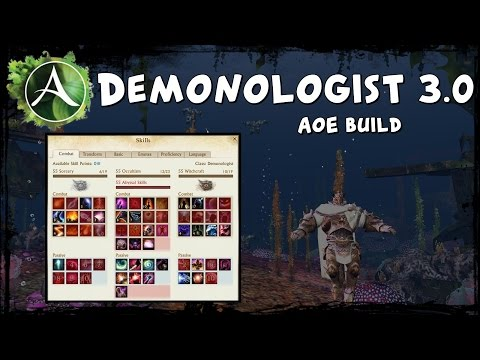 ArcheAge - Demonologist 3.0 - My Best AoE Farming Build!
