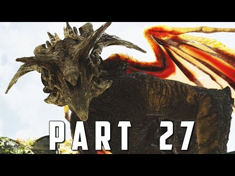 GOD OF WAR Walkthrough Gameplay Part 27 - FAFNIR DRAGON (God of War 4)