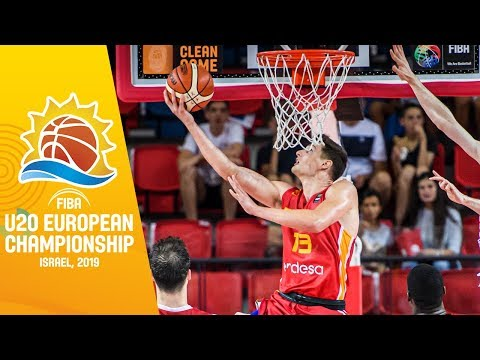 Turkey V Spain - Full Game - FIBA U20 European Championship 2019