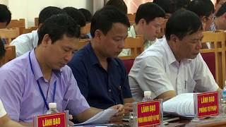 Hội nghị đánh giá kết quả Chỉ số CCHC huyện năm 2017