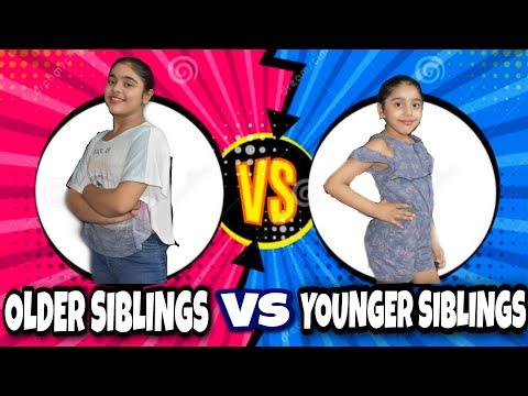 OLDER SIBLING VS YOUNGER SIBLING!! BLOOPERS!! sis vs sis!