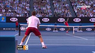Tennis Highlights, Video - Rafael Nadal Vs Stanislas Wawrinka Australian Open 2014 FINAL 1 SET/FIRST SET 720 HD