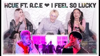 Hcue ft. A.C.E - I Feel So Lucky (Official Video) Reaction! WIGS ACTUALLY SNATCHED