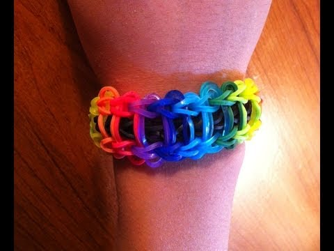 How To Make Rainbow Loom Ladder Bracelet | Fastest, Easiest Video