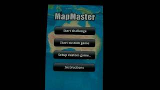 MapMaster DEMO -Geography game YouTube video