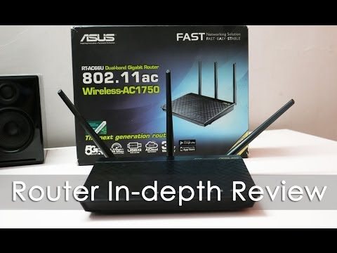 Asus RT-AC66U Dual band WiFi AC Router In-depth Review