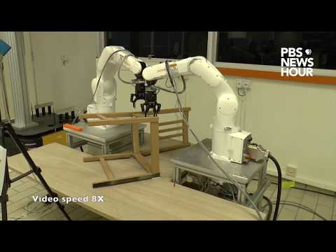 This autonomous robot can build an IKEA chair in less than 21 minutes (видео)