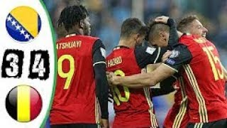 Video Bosnia Herzegovina vs Belgium 3-4 Extended Highlights & Goals  07 October 2017 MP3, 3GP, MP4, WEBM, AVI, FLV Oktober 2017