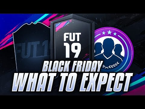BLACK FRIDAY WHAT TO EXPECT GUIDE! FIFA 19