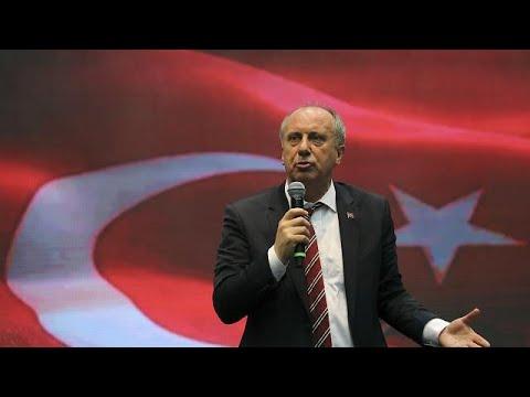 Προεκλογική ομιλία Τούρκου υποψηφίου προέδρου στην Κομοτηνή…