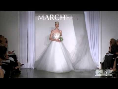 Runway: Marchesa Fall 2013 Bridal Collection