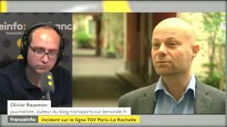 """Accident du TGV. Olivier Razemon pose l'hypothèse de possibles blocs de chantier mal rangés après des travaux """"c'est déjà arrivé"""""""
