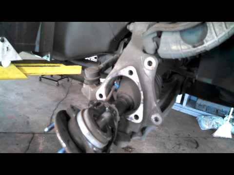 Hub assembly wheel bearing replacement 2000 Pontiac Grand Am SE Install Remove