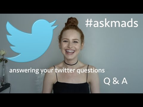 Answering your questions! #askmads | Madelaine Petsch