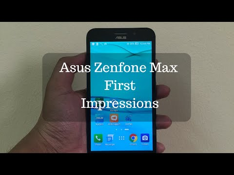 Asus Zenfone Max 2016 Unboxing and First Impressions