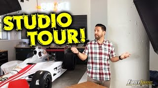 Fast Lane Daily Studio Tour! by Fast Lane Daily