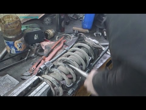 Ремонт стоек тойота видео