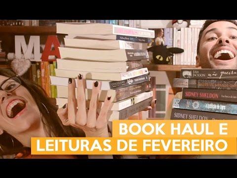 BOOK HAUL E LEITURAS DE FEVEREIRO | Admirável Leitor