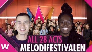 Video Melodifestivalen 2019: All 28 artists MP3, 3GP, MP4, WEBM, AVI, FLV Desember 2018